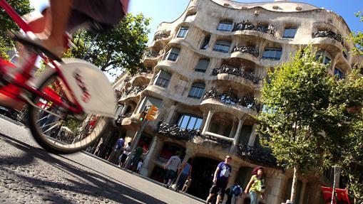Casa Milà, en Barcelona