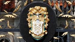 Escudo de Trump en Mar-a-Lago