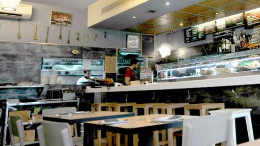Restaurante La Azotea, en Sevilla