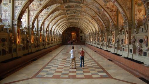 La Sala de Antigüedades, en La Residencia, Múnich