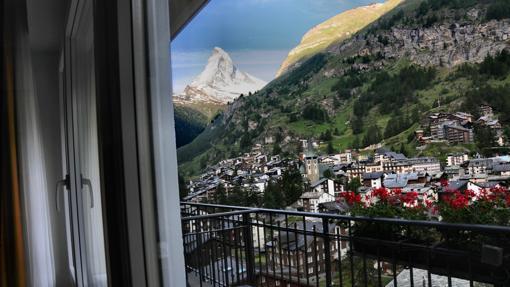 Park Hotel Beau Site (habitacion 510), Zermatt (Suiza)