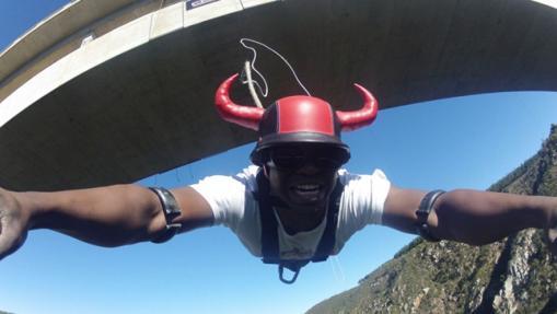 Puente de Bloukrans, en Sudáfrica