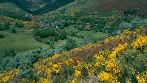 O Courel, en la provincia de Lugo