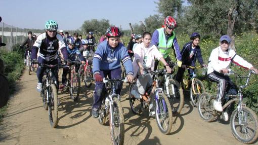 Día de cicloturismo en la provincia de Sevilla