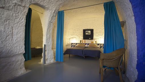 Alojamiento en cuevas en las Bardenas