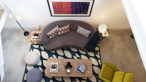 Detalle de uno de los apartamentos de Onsider