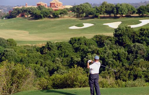 La Cañada, golf popular en Sotogrande