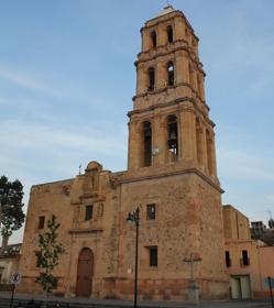 Una iglesia en Sombrerete