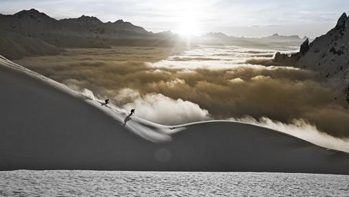 Las impresionantes cumbres nevadas de Arlberg