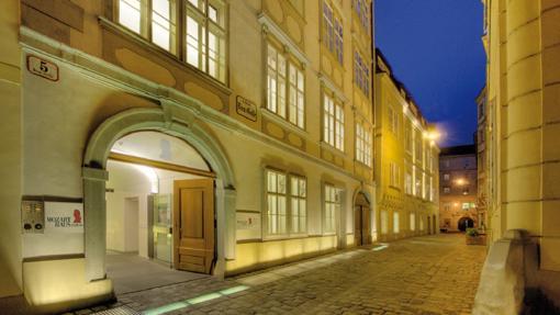 Casa de Mozart, en Viena