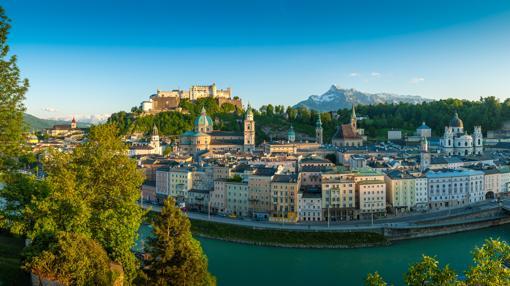 La apabullante belleza del casco antiguo de Salzburgo