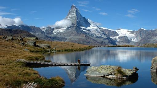 El Cervino (o Matterhorn), un símbolo de Zermatt y de las montañas en Europa