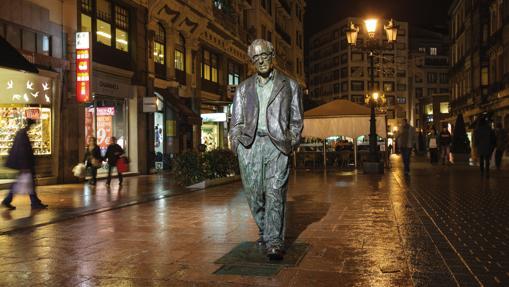 Imagen de Woody Allen, en Oviedo