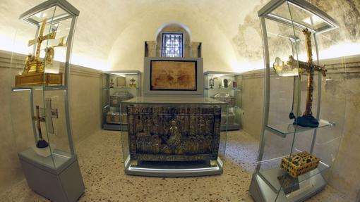 Cámara Santa, en la catedral de Oviedo