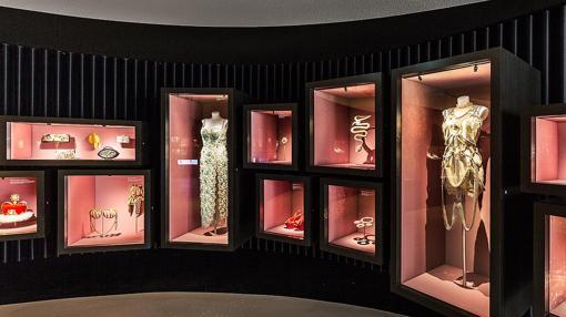 Un rincón del museo Mundos de Cristal de Swarovski