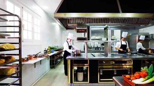 Cocina del restaurante Tierra
