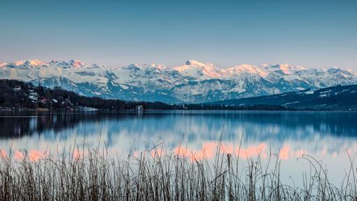 El lago Hallwilersee se halla, como el lago Baldeggersee situado un poco más al Sur, en Seetal