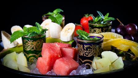 Desayuno de frutas en Bibo Madrid