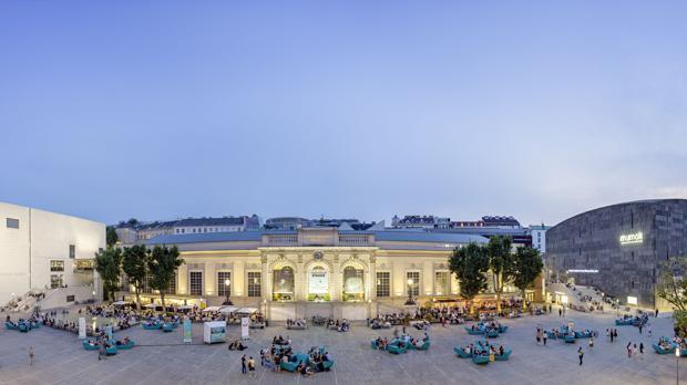 Vista panorámica del Barrio de los Museos, en Viena