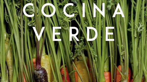 Detalle de la portada de Cocina verde