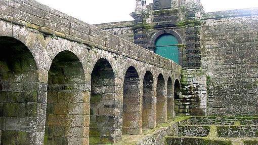 Detalle de la fortaleza de San Juan Bautista