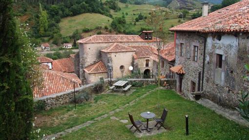 Vista de Carmona, en Cantabria