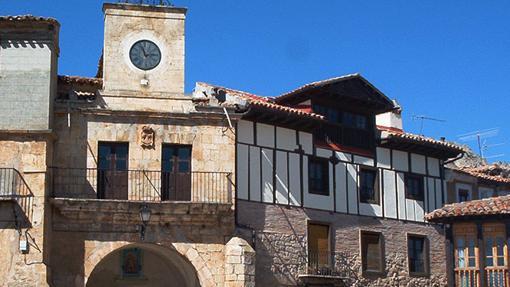 Villa medieval de Poza de la Sal, en Burgos
