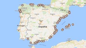 Mapa de las playas de España donde disfrutar con tu perro en 2017
