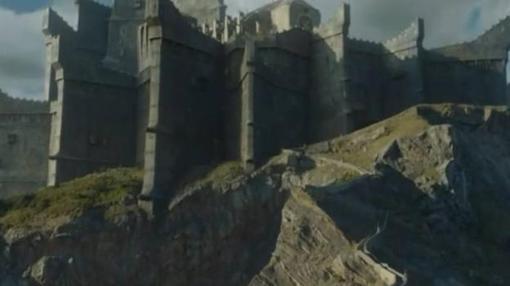 Imagen del castillo construido digitalmente por los técnicos de Juego de Tronos