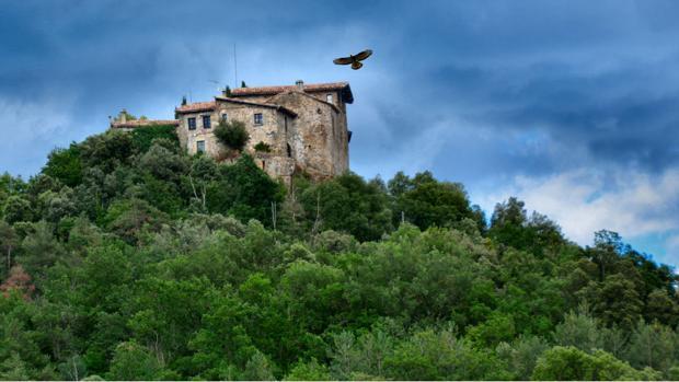 Castillo de Llaés, en Gerona