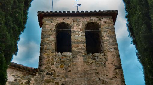 Torre del Castillo de Llaés, en Gerona