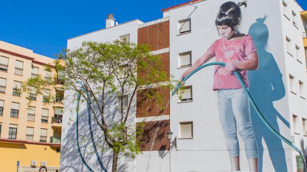 La ciudad española que ha convertido sus fachadas en obras de arte