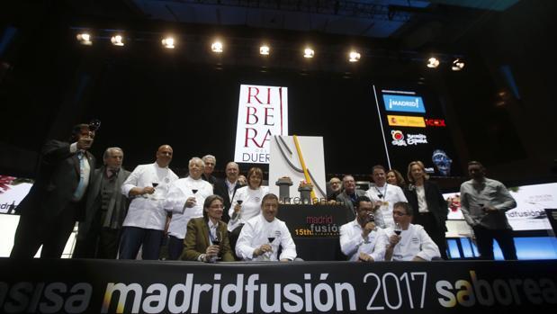 Jornada inaugural de Madrid Fusión 2017