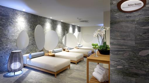 Sala de relax en el Spa del Hard Rock Hotel