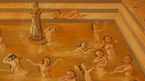 Baños de cerveza en la antigüedad