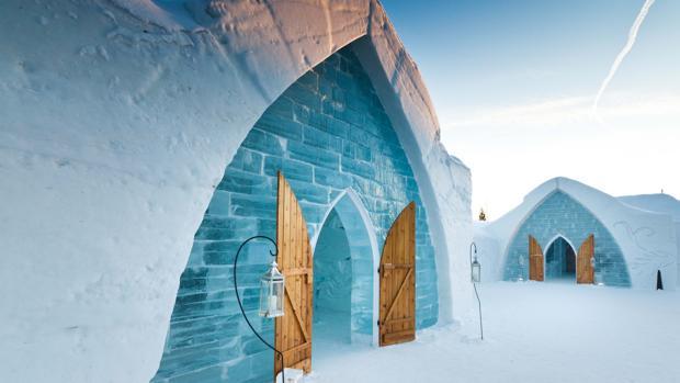 «Hotel de Glace» en Canadá