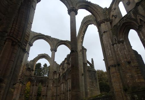 Restos de Fountains Abbey