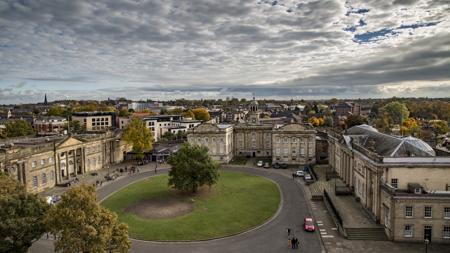 Panorámica de la ciudad de York (Inglaterra)