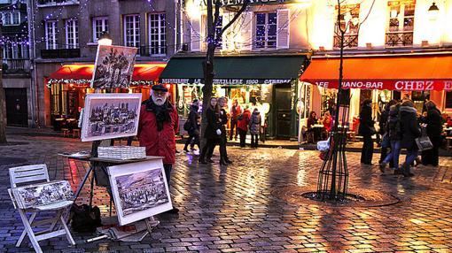 Pintor en Montmartre (París)