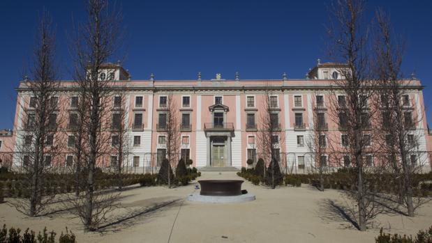Fachada del palacio del Infante Don Luis, en Boadilla del Monte