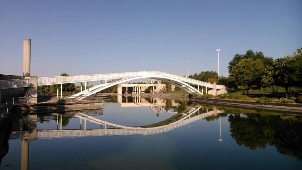 Ría del parque Juan Carlos I