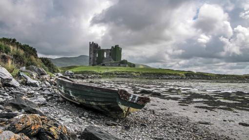 Castillo de Ballycarbery, en Kerry (Irlanda)