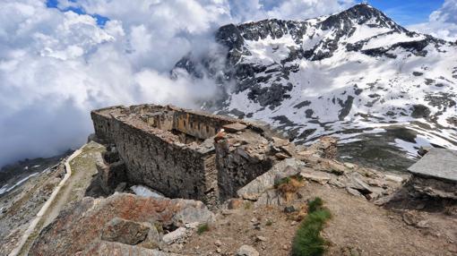 Fuerte de Malamot, en los Alpes Cotios (Francia)