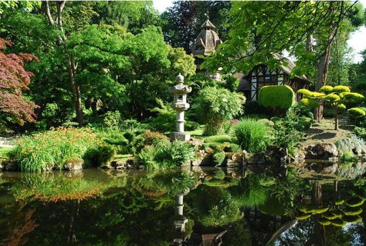 El jard n japon s m s grande de europa est en francia for Hotel husa jardines de albia