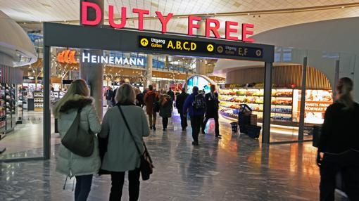 Nueva tienda Duty Free de la terminal del Aeropuerto de Oslo