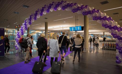 Nuevo hall de llegadas del Aeropuerto de Oslo