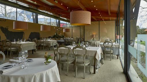 Restaurante El Retiro, en Llanes