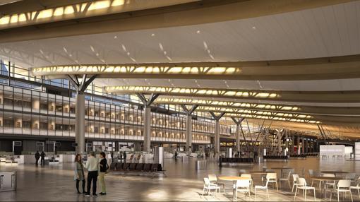 Nueva sala de embarque del Aeropuerto de Oslo