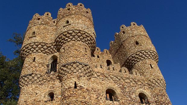 Castillo de Cebolleros, en Burgos (España)