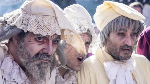 Actores en los días cervantinos en Alcalá de Henares